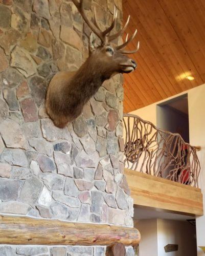 Lodge Custom Home Railing