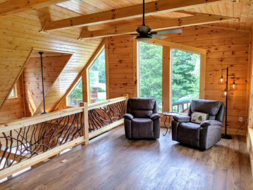 Log Cabin Loft NC Lifestyle