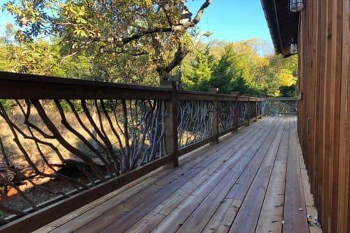 Long Deck Railing