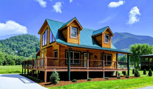Maggie Valley NC Home Exterior