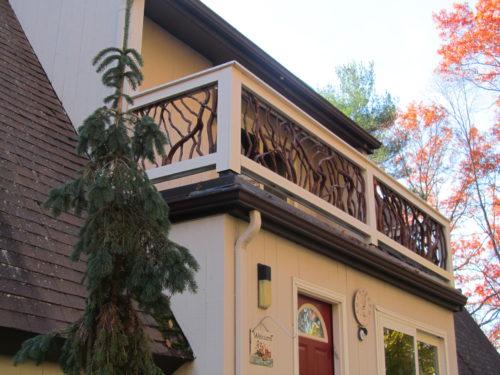 Main Entry Balcony Exterior