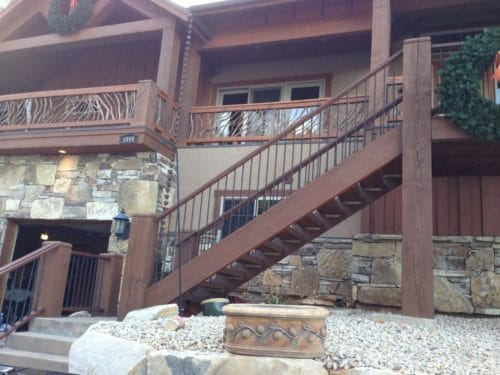 Mixed Material Handrails