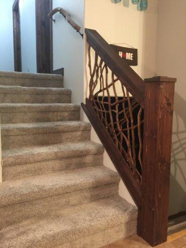 Montana Stair Railing Interior