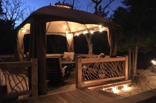 Multiple Types Of Deck Lighting