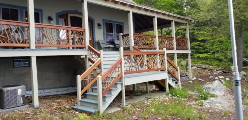 New Hampshire Deck Railing
