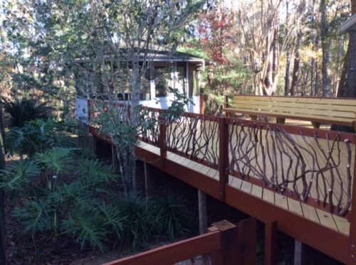 North Florida Deck Railing
