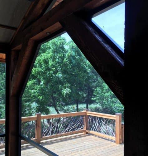 Oklahoma City Timber Handrail