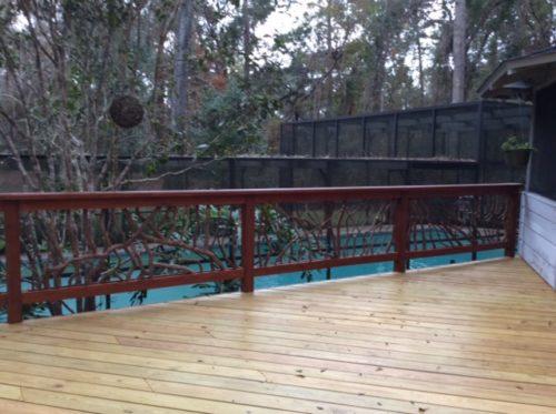 Pool Deck Safety Rail