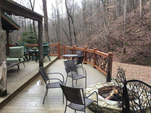 Porch Railings Match Nature