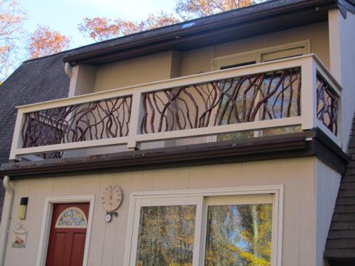 Roof Deck Balcony Guardrail