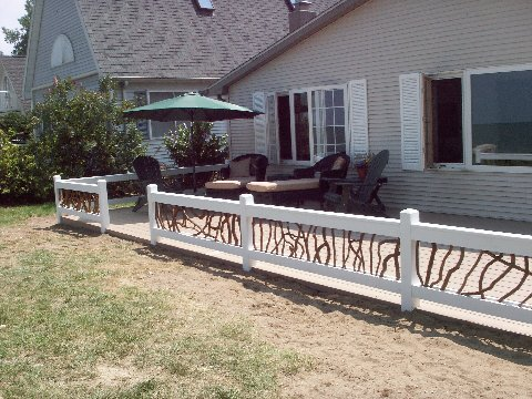 Rustic Deck Railings