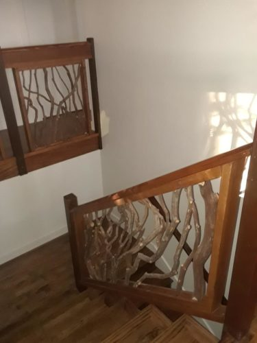 Sunlit Stairwell California