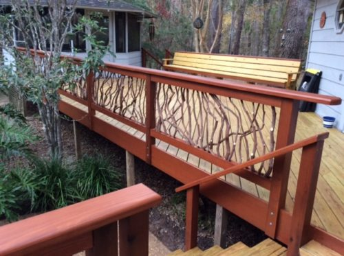 Tallahassee Deck Railing