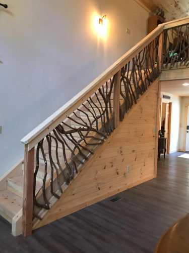 West Virginia Stair Railing Interior