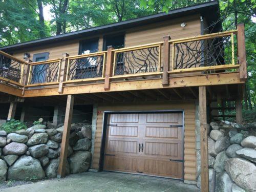 Wood Panel Garage Door