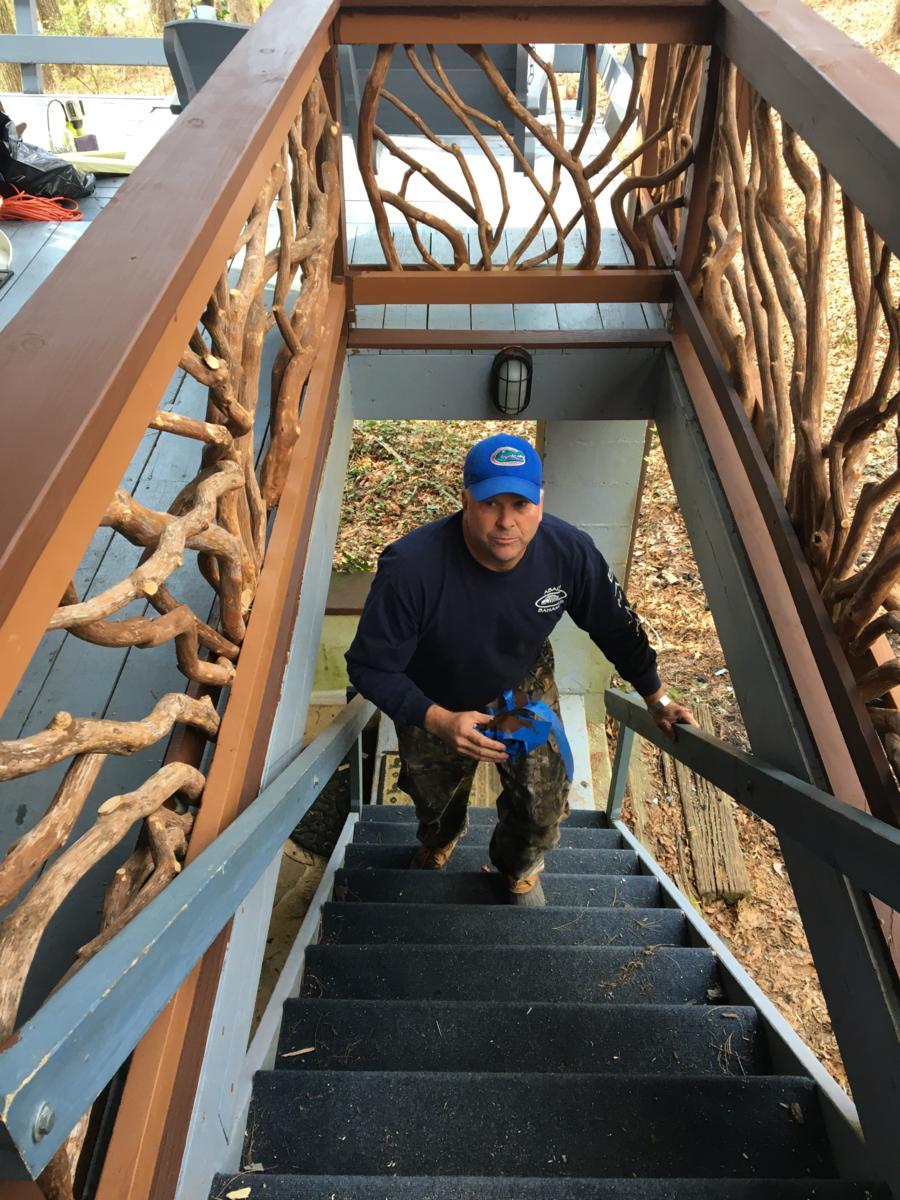 Mountain Laurel Handrails Rabun Gap GA