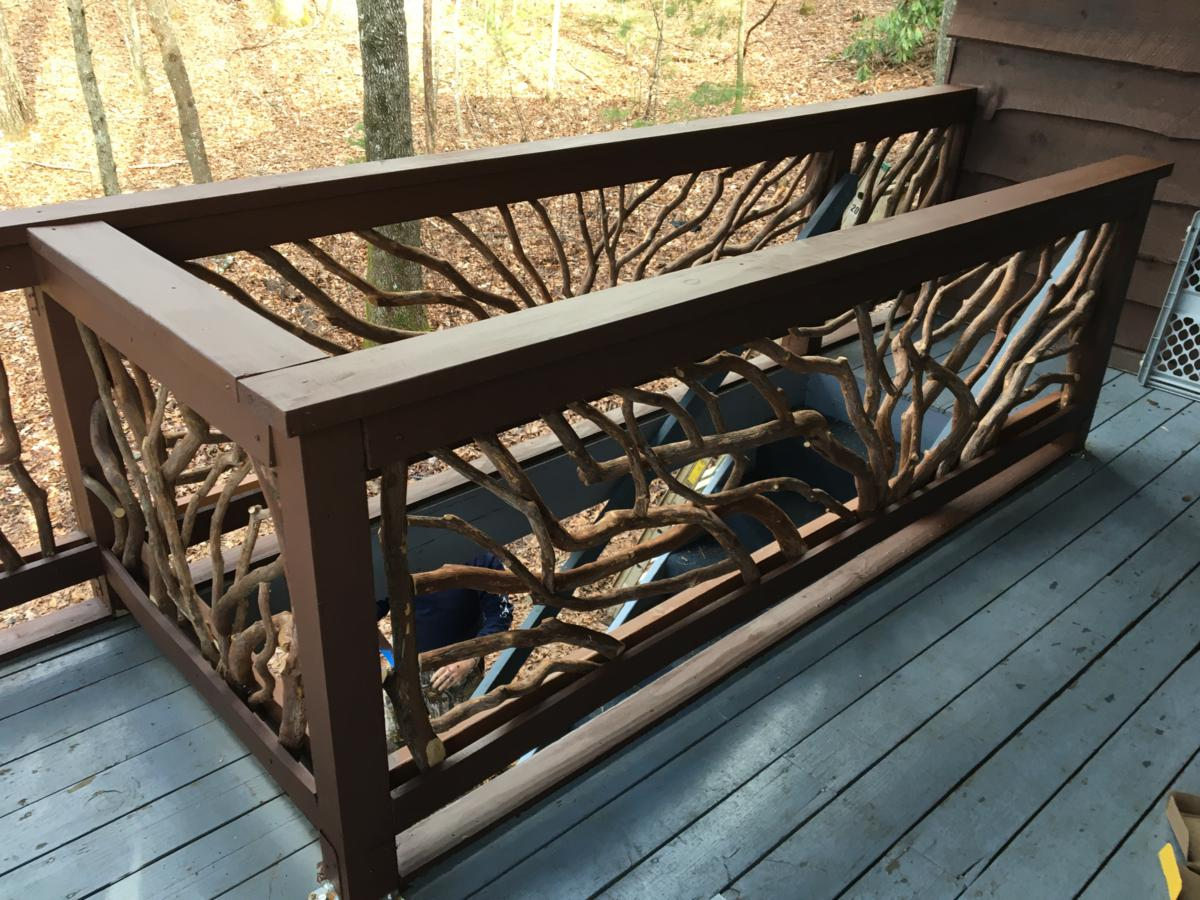 Rabun Gap Georgia Handrails