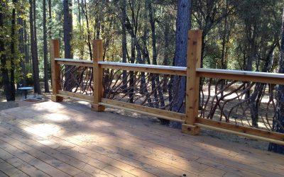 California Deck Railing