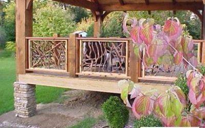Timber Frame Deck Design