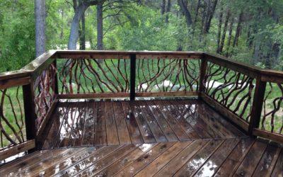 Deck Railing Wyoming