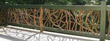 Mountain Laurel Handrails - Wood Railing