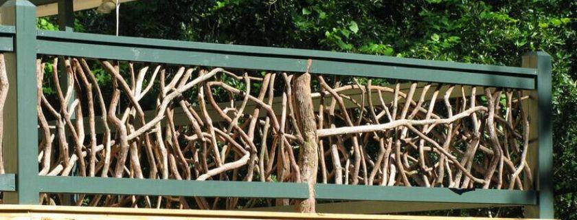 Outdoor Wood Handrails