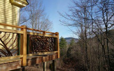 Vermont Rustic Railing2