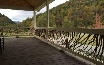 West Virgina Deck Railing